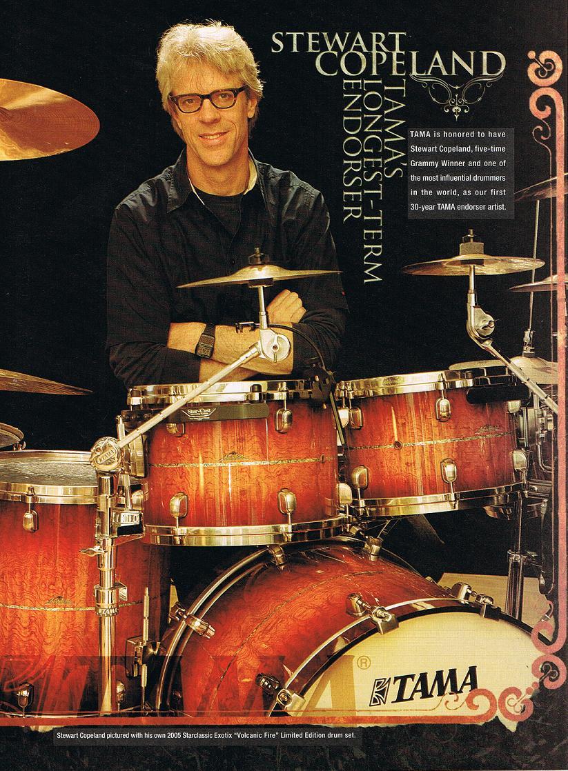 Musical gear (Stewart Copeland) PoliceWiki