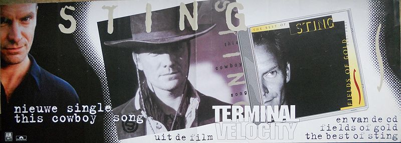 File:1994 This Cowboy Song dutch poster.jpg